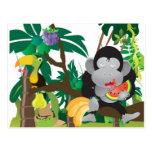 Mungle in the Jungle Postcards