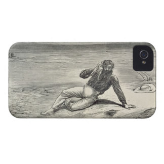 Mungo Park (1771-1806) encouraged by the sight of iPhone 4 Case-Mate Case