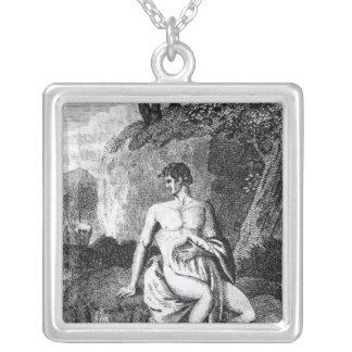 Mungo Park in Africa Silver Plated Necklace