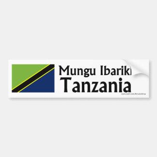 Mungu Ibariki (God Bless) Tanzania bumper sticker