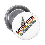 munich 6 cm round badge