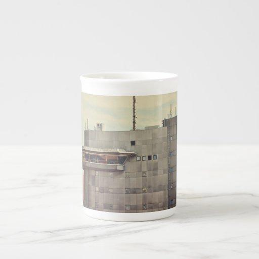 Munich architecture bone china mug