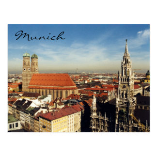 munich city postcard
