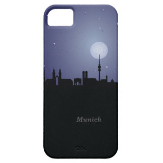 Munich CityScape Night Silhouette iPhone 5 Case