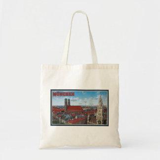 Munich Cityscape Tote Bag