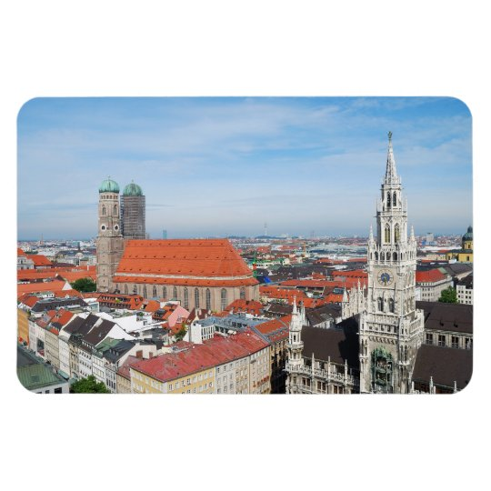 Munich, Germany Flexi Magnet