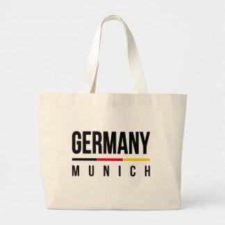 Munich Germany Large Tote Bag