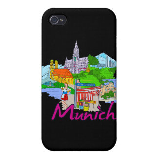 Munich - Germany.png iPhone 4 Cover