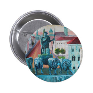 Munich Leopold Str With Bavaria And Alps Button