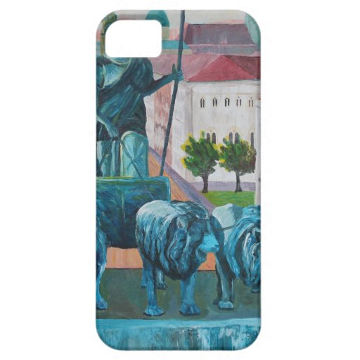 Munich Leopold Str. With Bavaria And Alps iPhone 5 Covers
