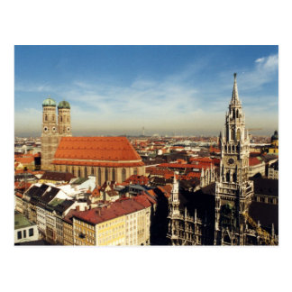 munich postcard