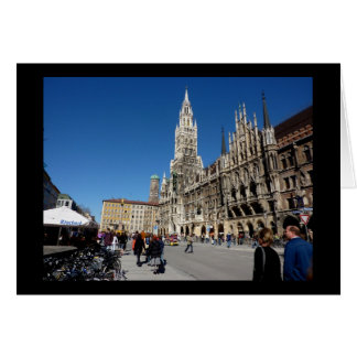 Munich Square (Marienplatz) Card