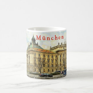 Munich. Winter. Cityscape. Coffee Mug