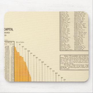 Municipal net debt mouse mat