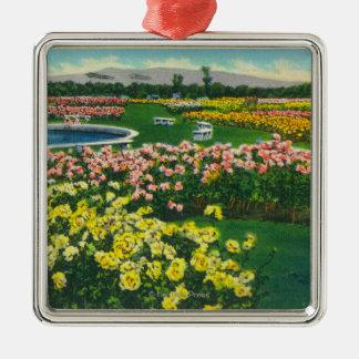 Municipal Rose Garden in Santa Clara County Christmas Ornament