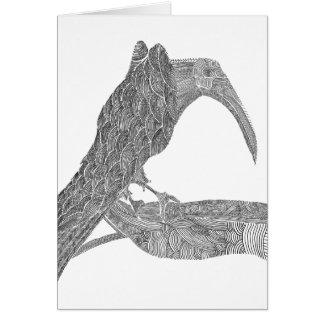 Munin Greeting Card