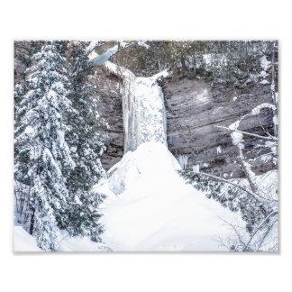 Munising Falls Froze Over - Upper Michigan Photo