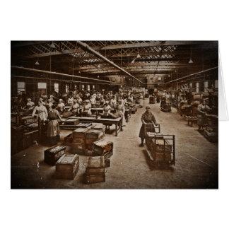 Munitions Box Factory Women Card
