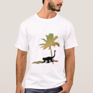 Munkey Palm Tree T-Shirt