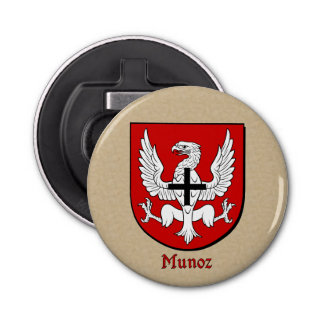 Munoz Heraldic Arms on Parchment