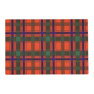 Munro clan Plaid Scottish tartan Laminated Placemat