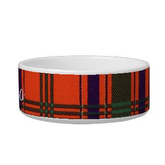 Munro clan Plaid Scottish tartan Cat Water Bowl
