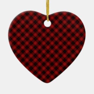 Munro Clan Tartan Designed Print Christmas Ornament