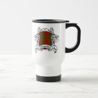 Munro Tartan Shield Stainless Steel Travel Mug