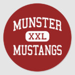 Munster - Mustangs - High School - Munster Indiana