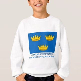 Munster Province Flag with Name Sweatshirt
