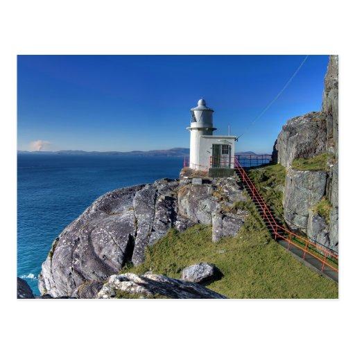 Muntevary Lighthouse Postcard