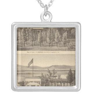 Munyan, Armstrong, Kapp properties Silver Plated Necklace