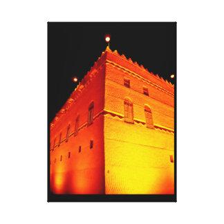 Murabba Palace at Night Canvas Print