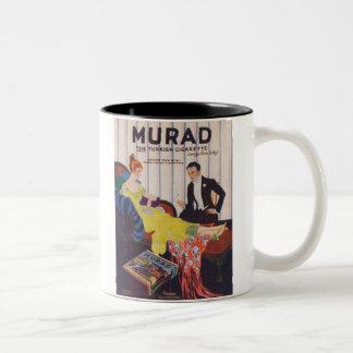Murad Turkish Cigarettes 2 Coffee Mug