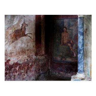 Mural at Pompeii Postcard