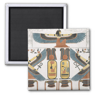 Mural from the Tombs of the Kings at Thebes, disco Magnet