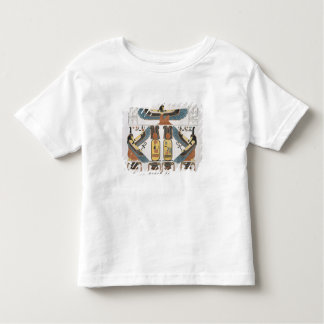Mural from the Tombs of the Kings at Thebes, disco Toddler T-Shirt