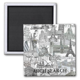 Mural magnet Arch Squared Search
