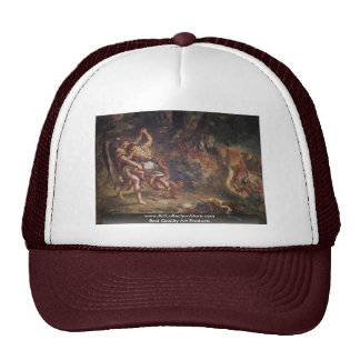 Murals For Saint-Sulpice In Paris Chapel Trucker Hat