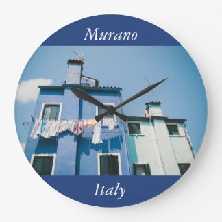 Murano houses large clock