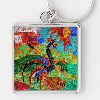 Murano Mosaic II Key Ring