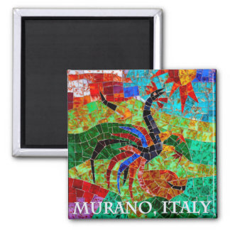 Murano Mosaic II Refrigerator Magnets