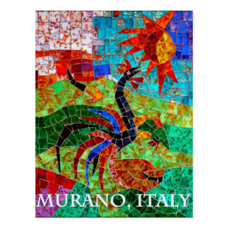 Murano Mosaic II Postcard