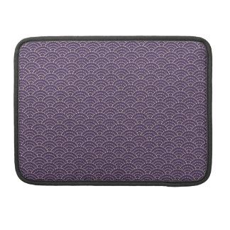 MURASAKI - Japanese tabi-style Sleeve flap purple  MacBook Pro Sleeve