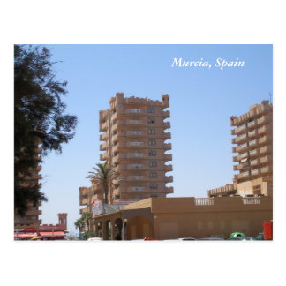 Murcia, Spain buildings Architecture Postcard