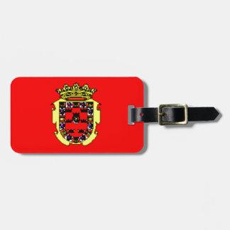 Murcia (Spain) Flag Luggage Tag