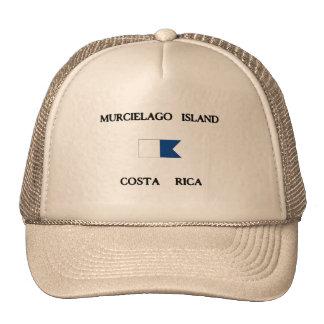 Murcielago Island Costa Rica Alpha Dive Flag Mesh Hat