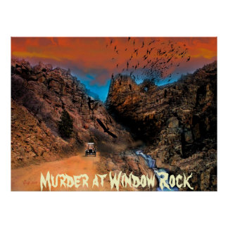 Murder at Window Rock Posters