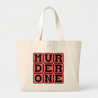 Murder One, Criminal Offense Tote Bag