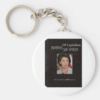 Murder Pelosi Wrote Key Chain